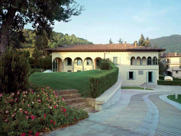 Vue de la Villa Bergame