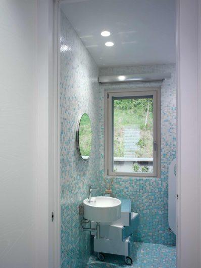 Vue de la fenêtre de la salle de bain
