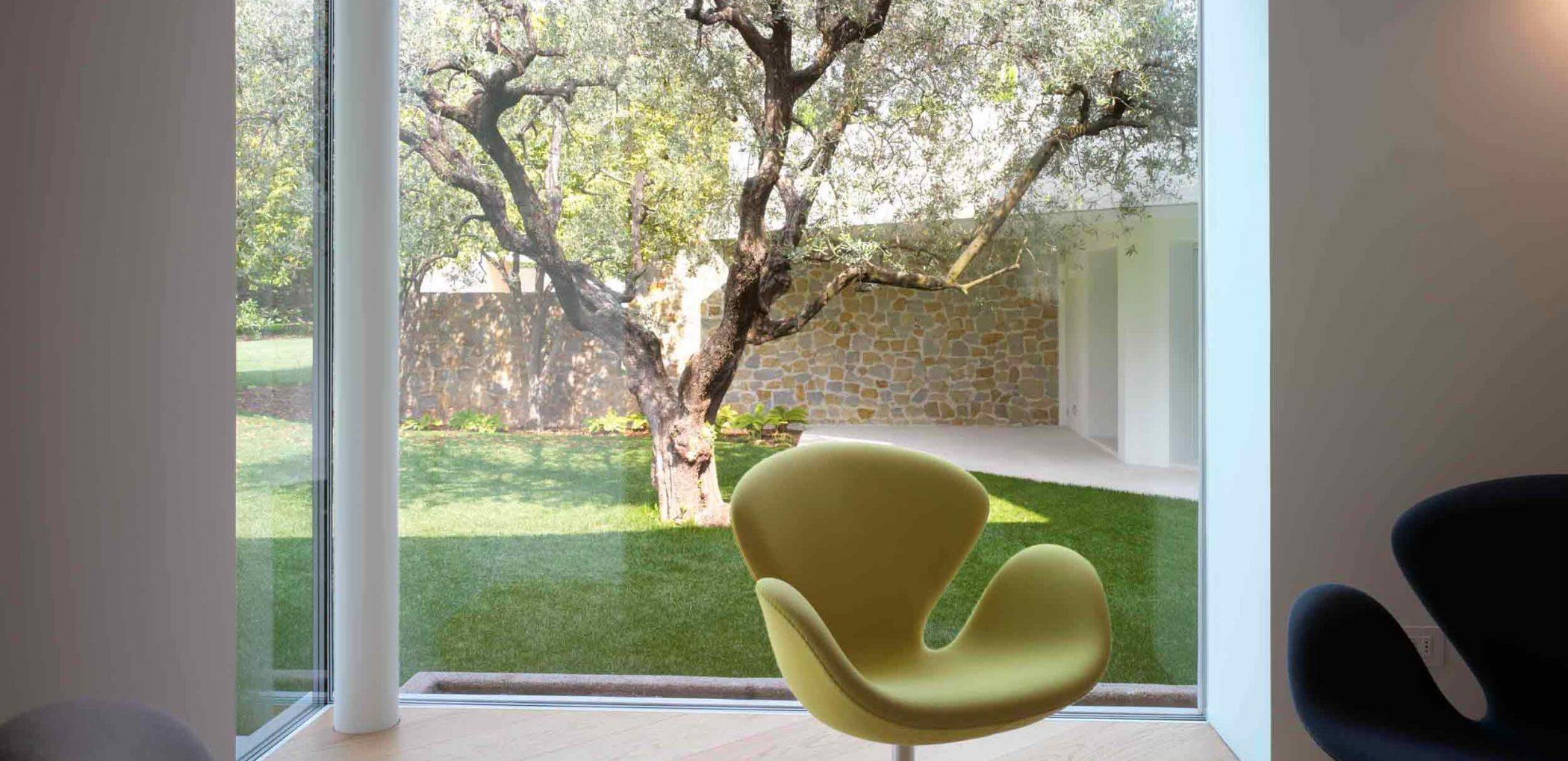 Image de couverture de la Villa Vicenza avec coin en verre