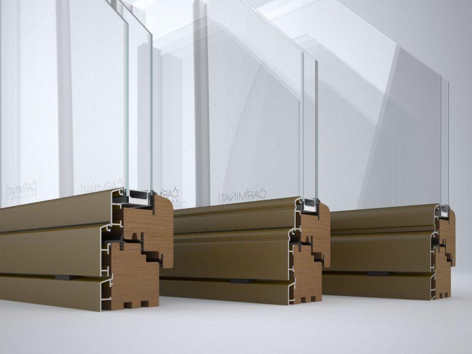 Portes de fenêtres Alu 90, détail image numéro trois