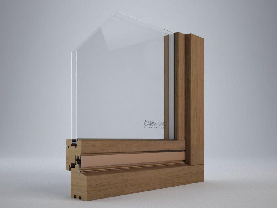 Portes de fenêtres Euro 68 Slim, détail image numéro un