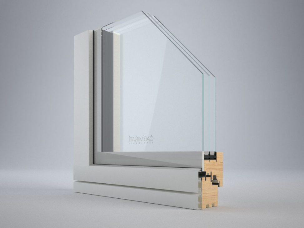 Portes de fenêtres Vitrum 90, détail image numéro deux