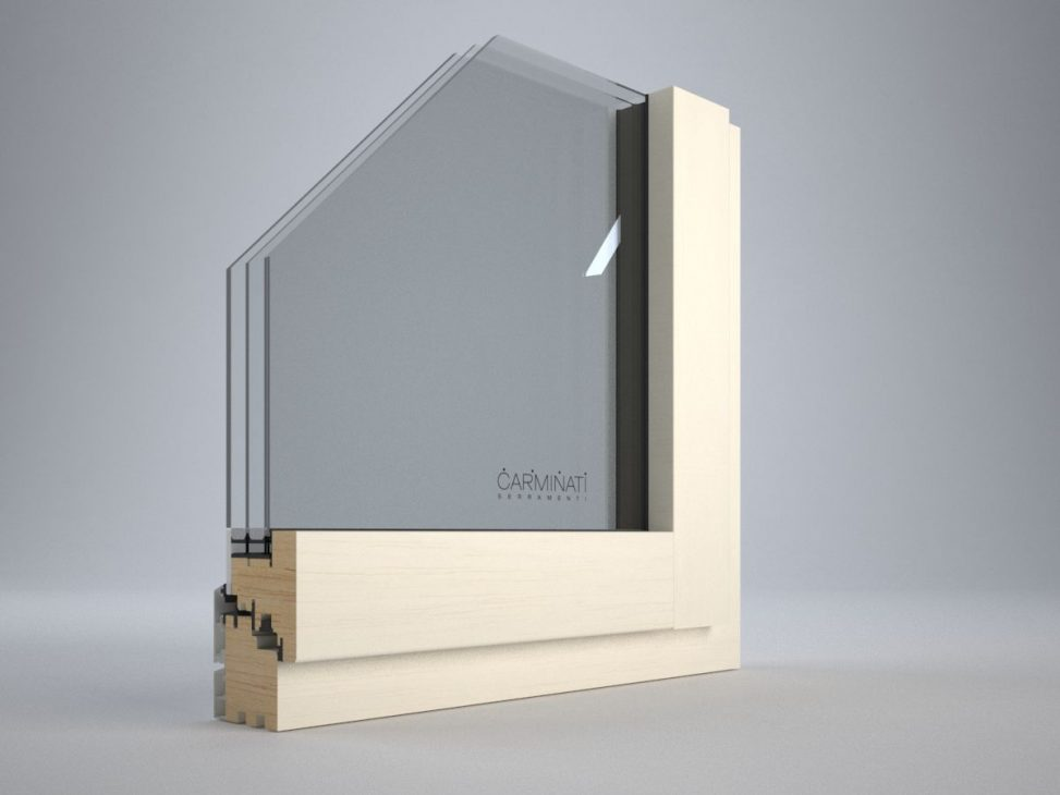Portes de fenêtres Vitrum 90, détail image numéro un