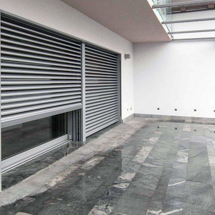 Brise-soleil en aluminium, galerie d'images numéro deux