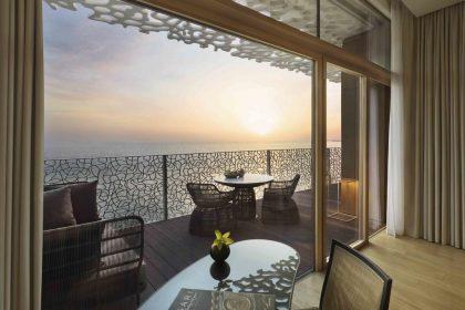 Bvlgari Hotel & Resort, vue de la terrasse