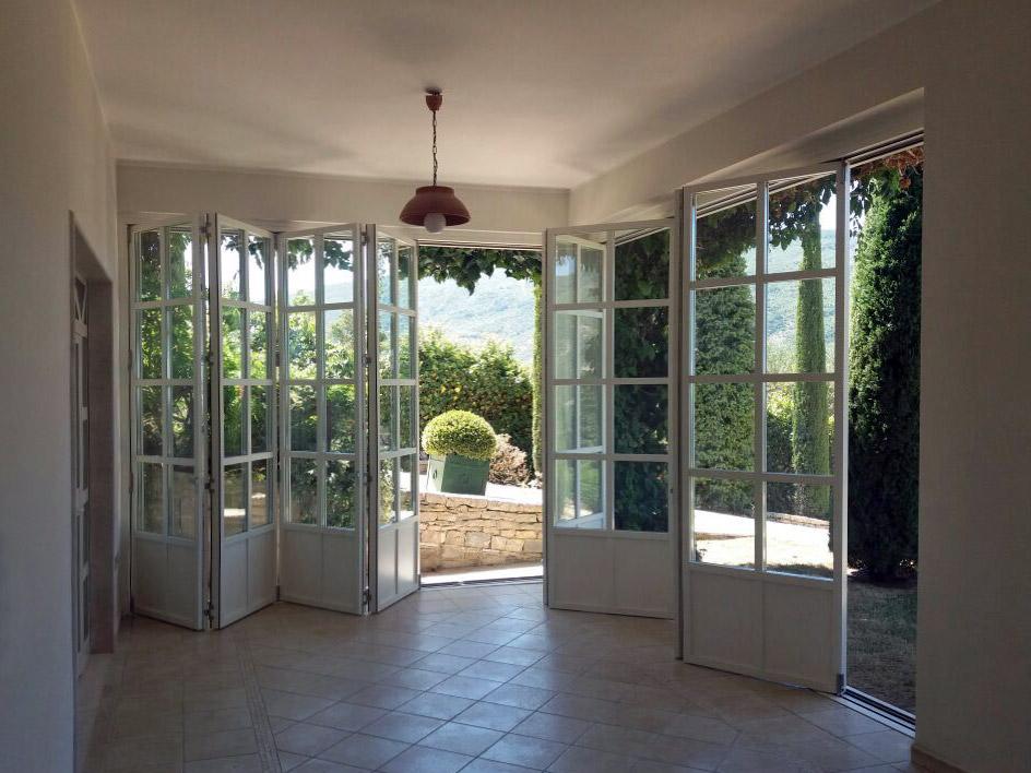 Villa Salerno, vue de l'interne