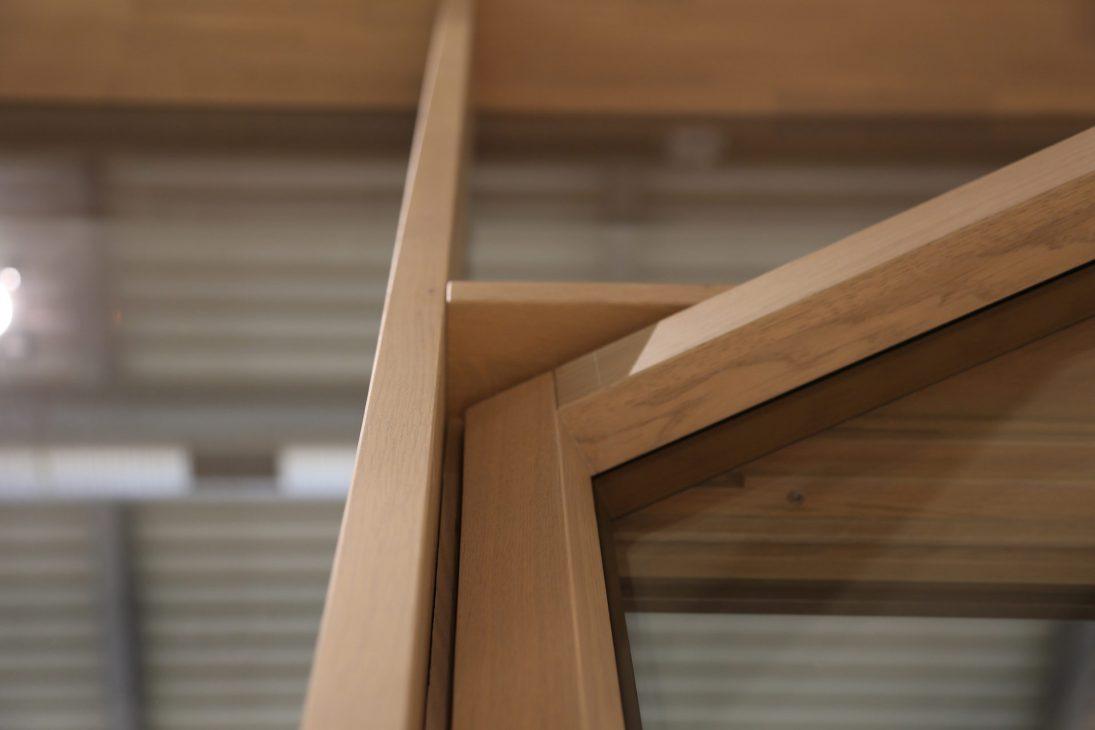 Skyline Facade, détail du noeud du cadre