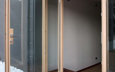 Skyline Pivot, vue de la porte