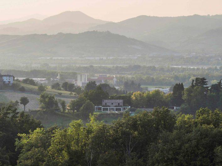 Image de Villa Parma insérée dans le contexte naturel