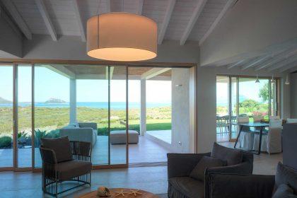 Villa Costa Smeralda, vue sur le salon