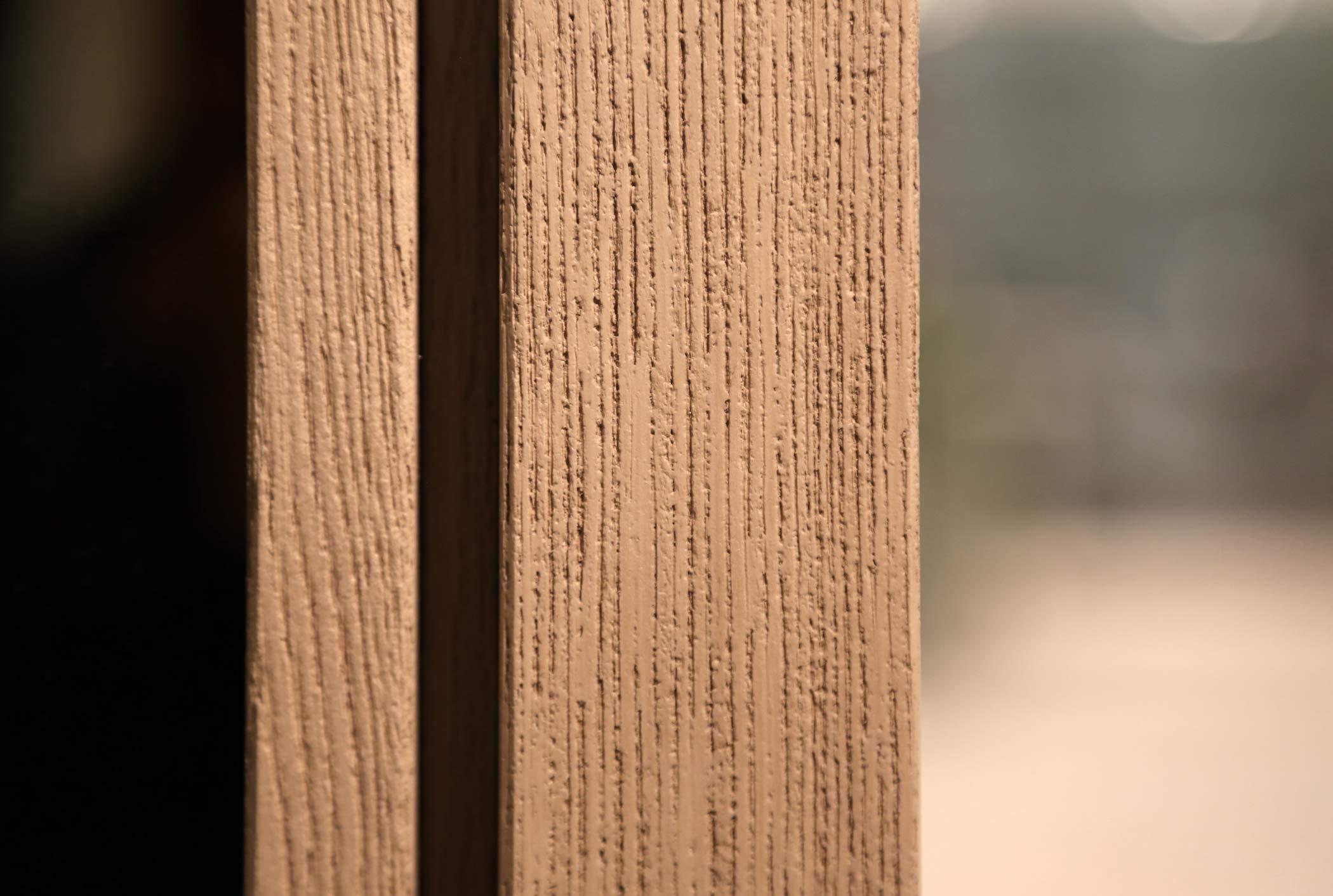 Finition en bois naturel